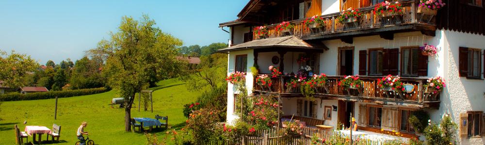 Urlaub auf dem Bauernhof in Schliersee